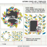 New – Autumn Leaves 02   Templates