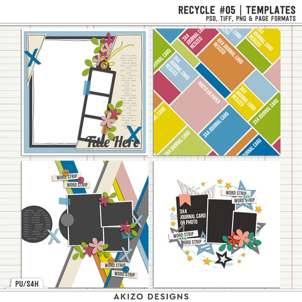 Recycle 05 | Templates by Akizo Designs