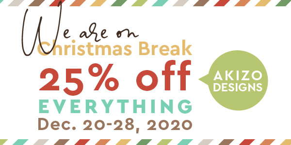 Week Off sale surrounding Christmas | Akizo Designs | Digital Scrapbooking