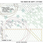 $1 Sale – This Makes Me Happy   Alphas – Stitches – Playing With Confetti 04   Templates