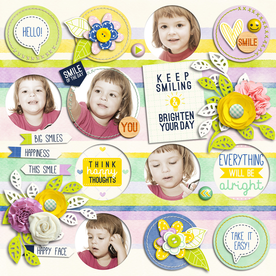 Layout Sample of Stitched Up 04 | Templates