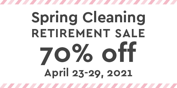 Spring Cleaning 70% Retirement Sale | Akizo Designs | Digital Scrapbooking