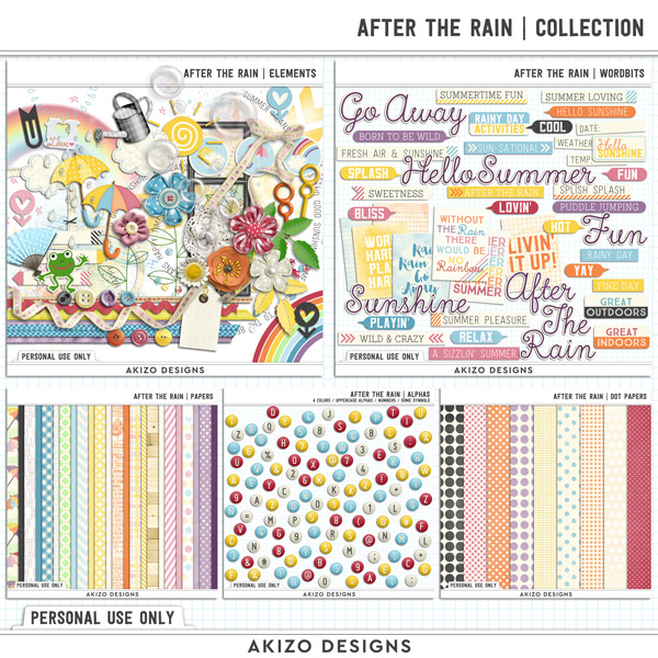 After The Rain | Collection by Akizo Designs