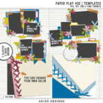 New – Paper Play 22   Templates