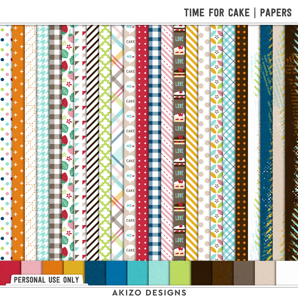 Time For Cake | Papers
