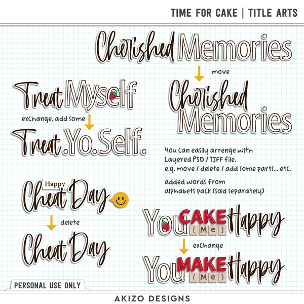 Time For Cake | Title Arts