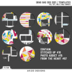 Grab Bag DSD 2021 Templates is Ready!