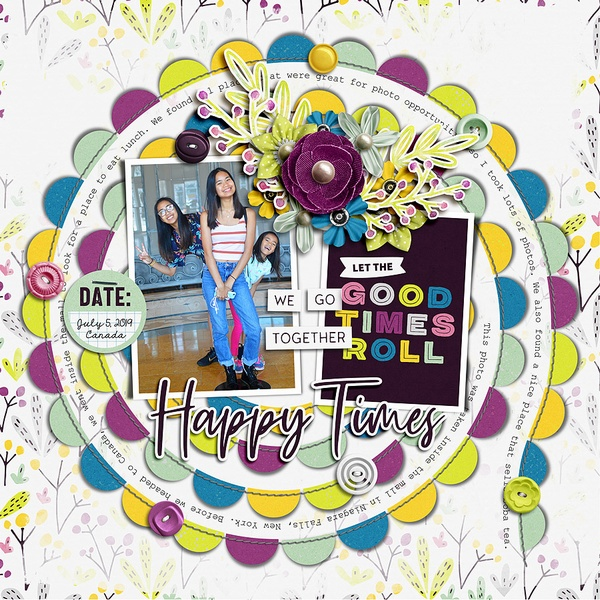 Layout Sample of Stitched Up 10 | Templates