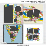 New – Torn Paper Play 02 | Templates